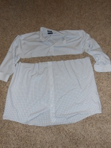 Cuts to Men's Dress Shirt