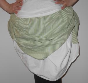 Base of Steampunk-inspired Skirt