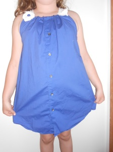 Mens Dress Shirt to Girl's Sundress