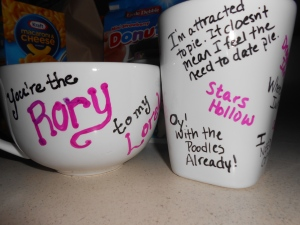 DIY Sharpie Paint Mugs