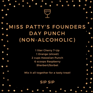 Miss Patty's Founders Day Punch - Non-Alcoholic